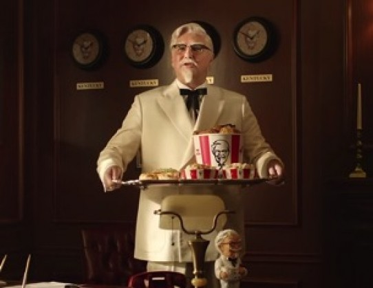 KFC Has Fun with the Colonel