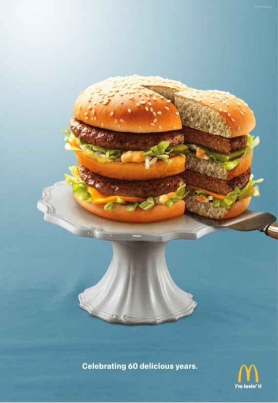 If it tasted like this photo looks, Big Mac would have never lasted 60 years.