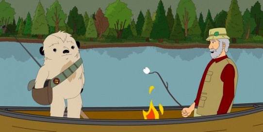 Campfire in a Canoe: Oreo S'mores to the Rescue