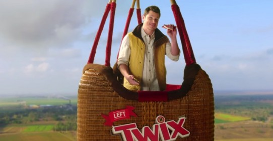 Twix Imagines Competition Between Halves