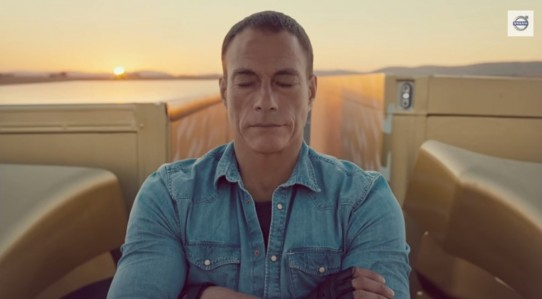 Amazing Van Damme.  Amazing Trucks.