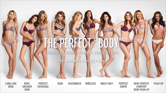A Revealing Ad about Victoria's Secret